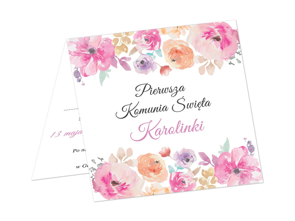Comunion Invitation Card Envelope 1 Pc Special