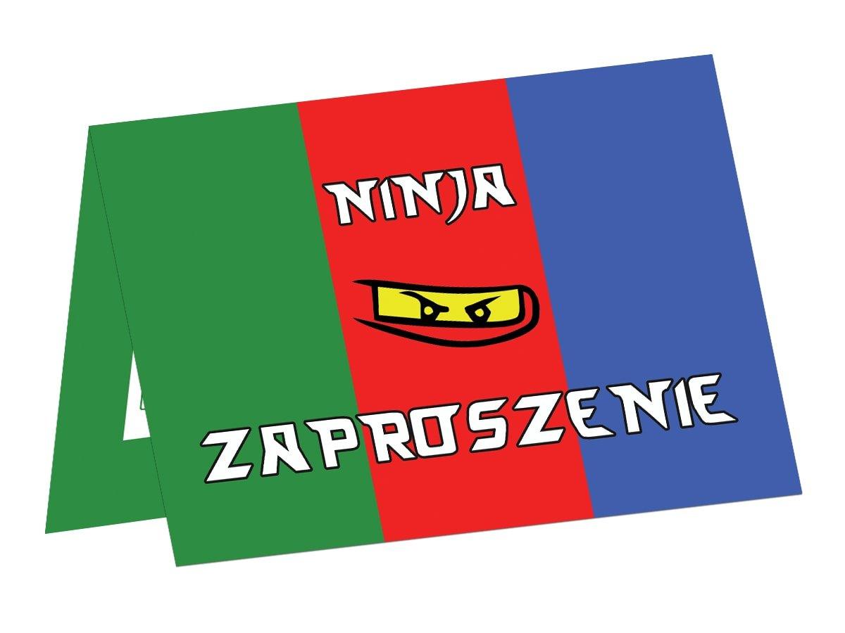 Invitation Card Ninja 6 Pcs Party Supplies Invitations
