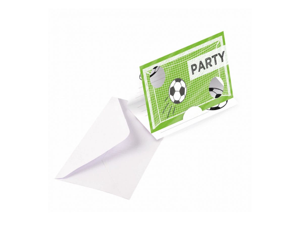 Kicker Party Invitation Cards 8 Pc Party Supplies