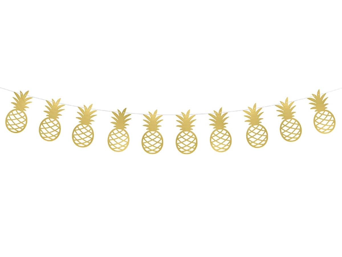 Pineapple Garland Decorations Banners Garlands Banners