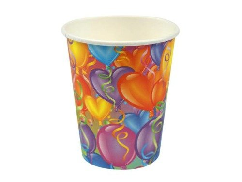 Balloons Paper Cups - 266 ml - 6 pcs