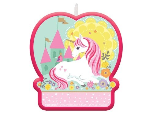 Birthday Candle Magical Unicorn - 1 pc
