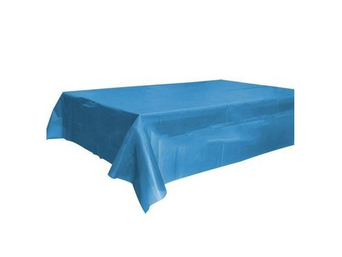 Blue Tablecover - 120x140 cm - 1 pc