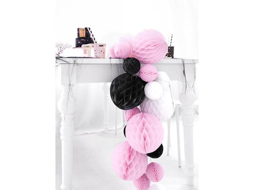 Honeycomb Ball black - 40 cm - 1 pc