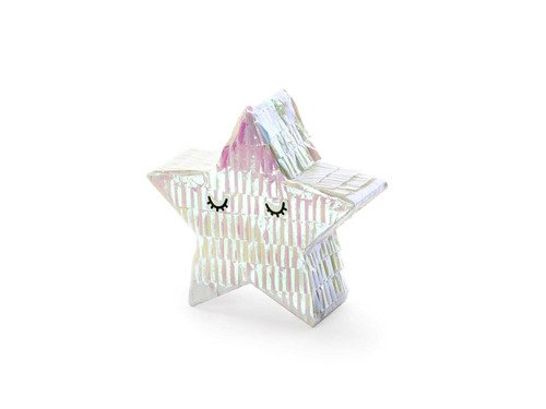 Mini Decorational Pinata Star - 10,5 x 9,5 x 3,5 cm