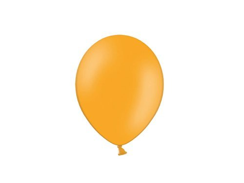 Orange pastel balloons - 5'' - 100 pcs.