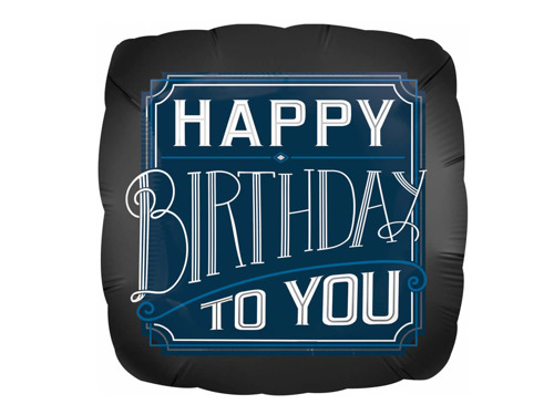 Supershape Happy Birthday to you Foil Balloon 46 cm - 1 pc