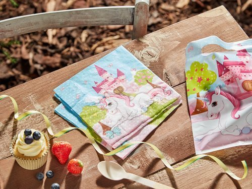 Unicorn Napkins - 33 cm - 20 pcs
